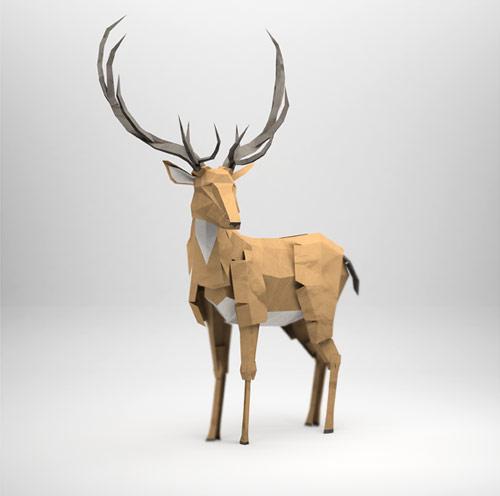 3d origami illustrations of animals showme design recent items voltagebd Images