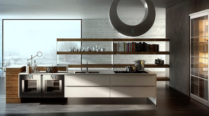 New age contemporary kitchens showme design for Show me kitchen designs