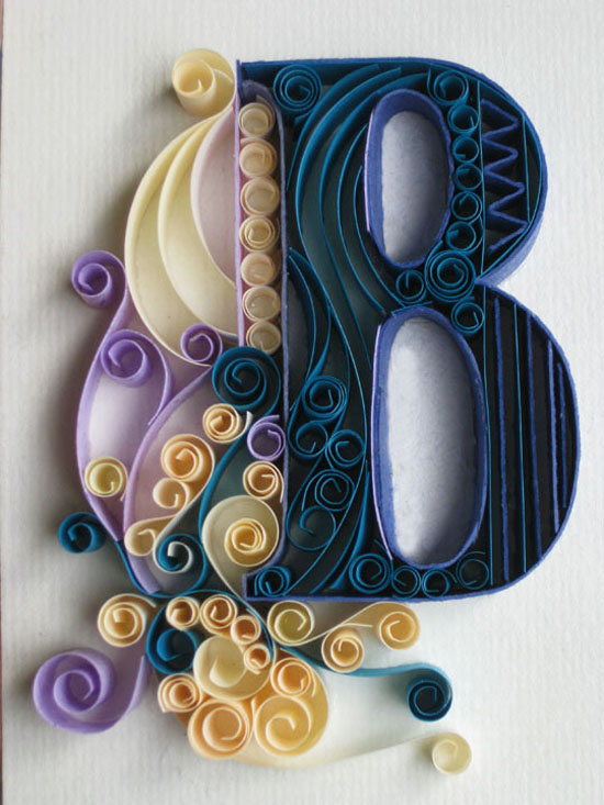 Beautiful letters by Sabeena Karnik showme design