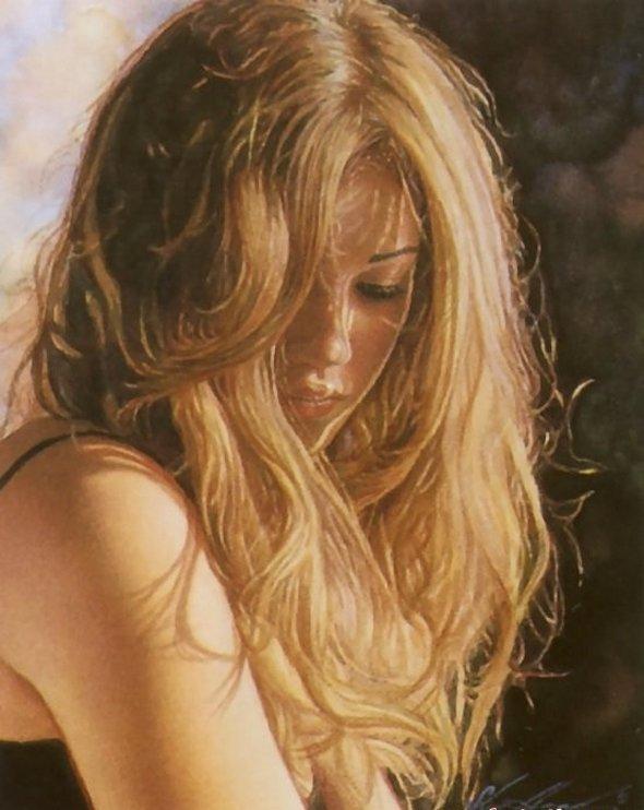 Paintings by Steve Hanks #1 | showme design