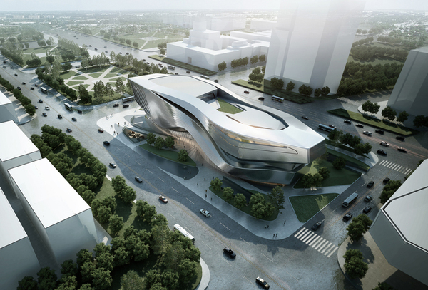 Dalian museum competition design concept showme design for Notion architecture