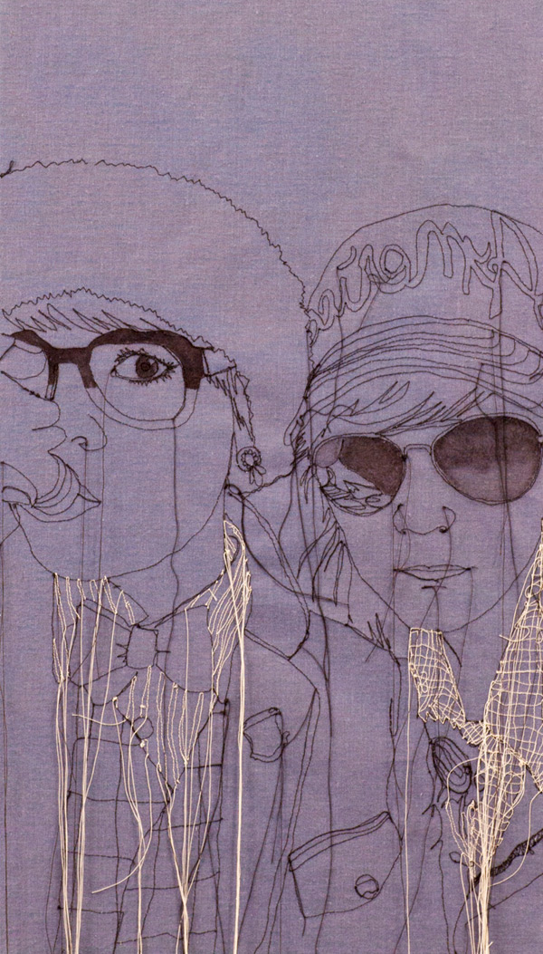 Nike Embroidery Design >> Embroidered Portraits by Nike Schroeder | showme design