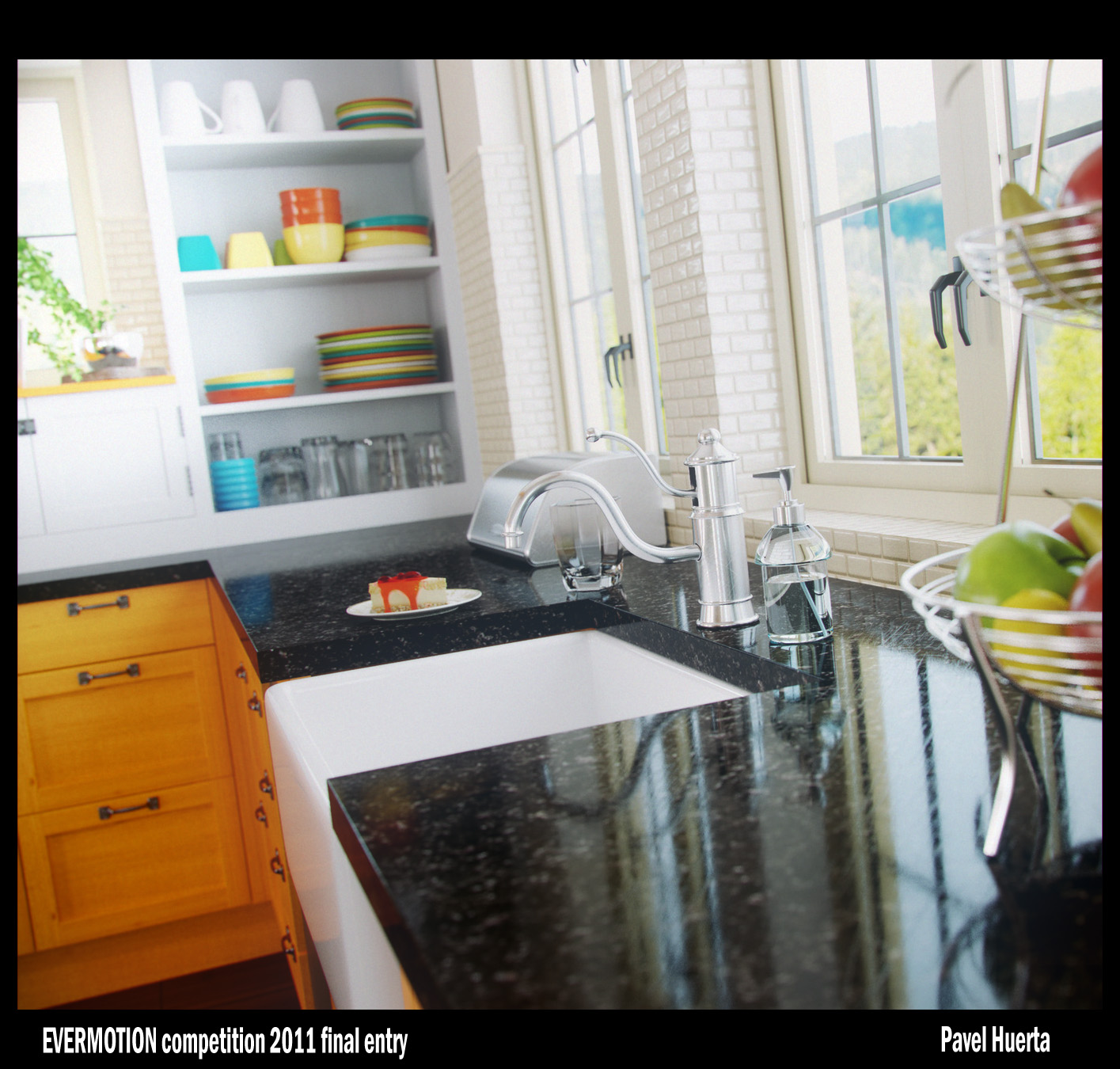 Architectural visualisation interiors showme design for Show me some kitchen designs