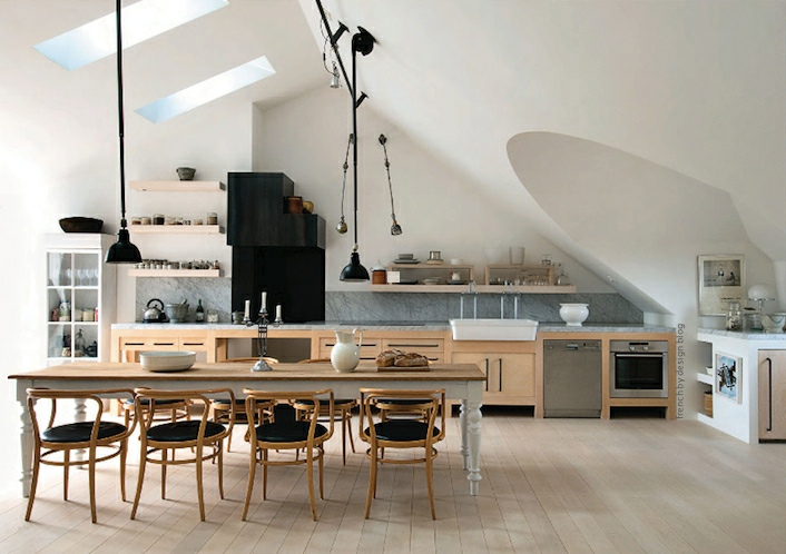 Attic spaces showme design for Show me some kitchen designs