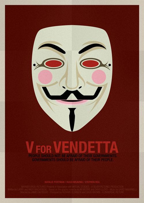V For Vendetta Movie Poster Movie Posters   showme...