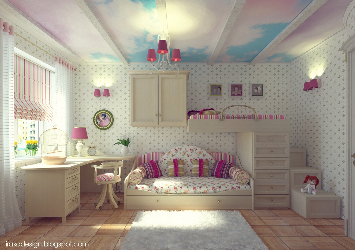 Girls bedroom inspiration showme design for 3 bedroom design