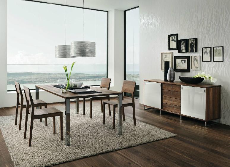Walnut dining room furniture