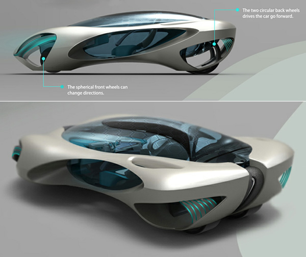Taihoo 2046 Concept Car Showme Design