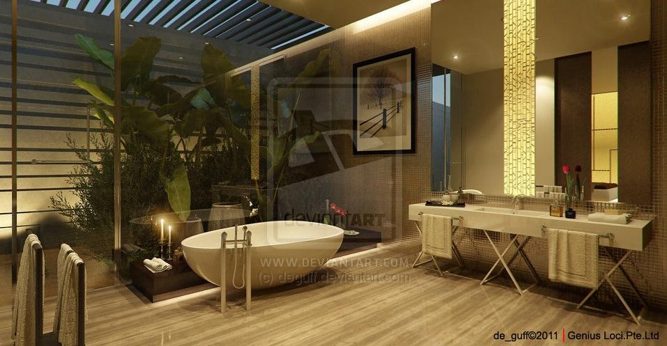 Relaxing bathrooms showme design - Salle de bain zen et nature ...