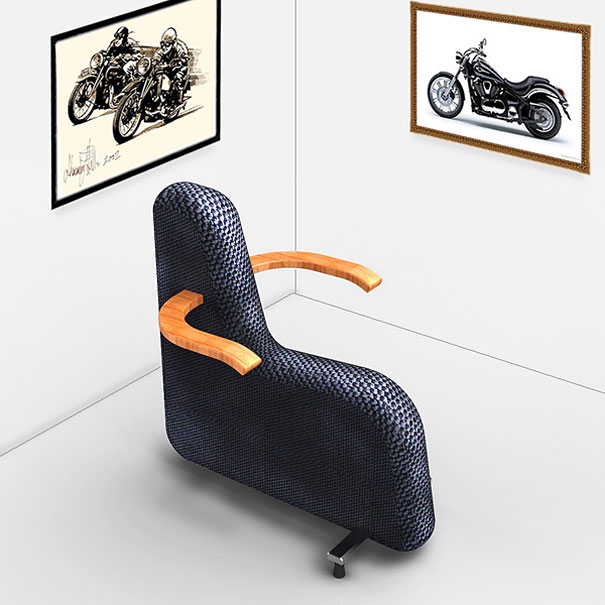 Creative chairs showme design for Unique sitting chairs