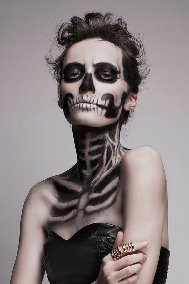 Skeleton Halloween Makeup Ideas
