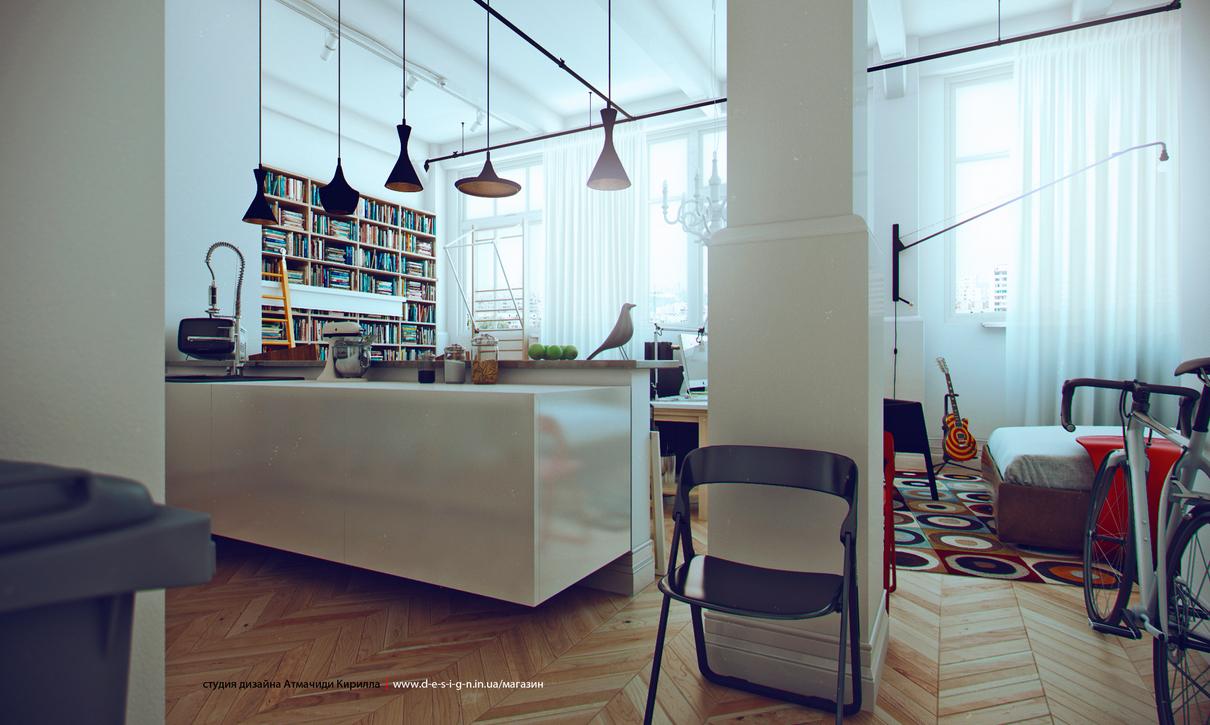 White studio apartments showme design for Studio apartment design