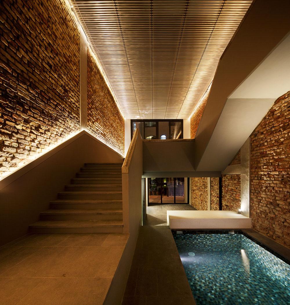 The pool shophouse farm showme design for Pool 22 design