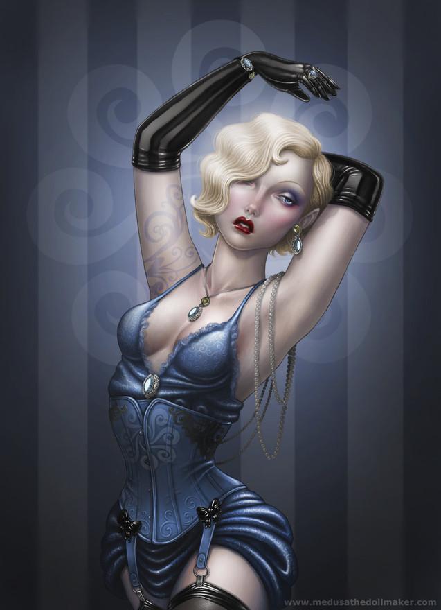Erotic vampire art cartoon
