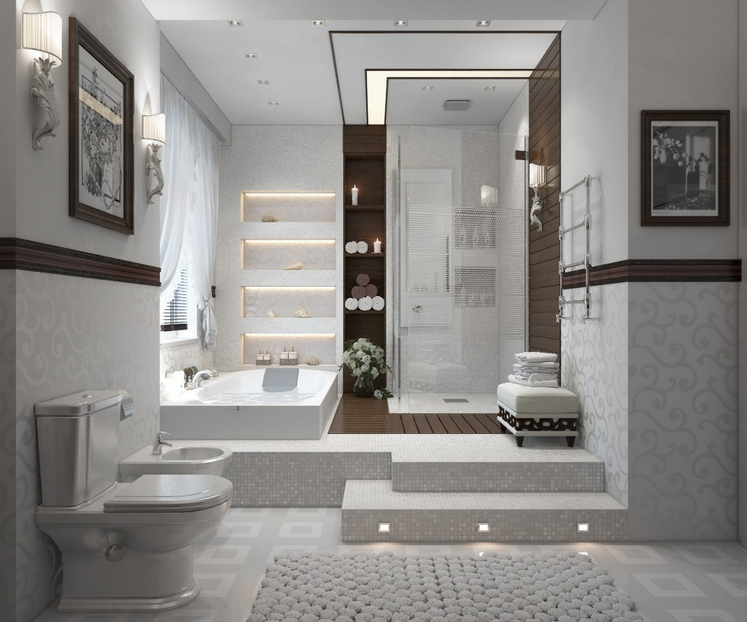 modern bathrooms with spa like appeal showme design