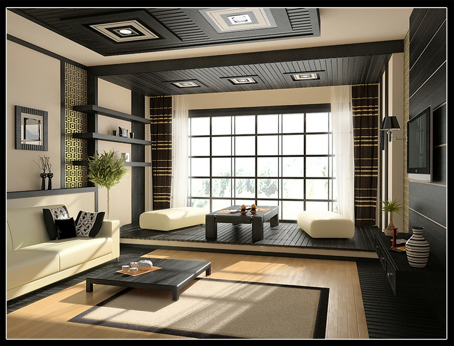 Stylish Home Design Ideas: Design Of Living Room Modern on blue decorating ideas for bedrooms, black bedroom paint ideas, black designer bedrooms,