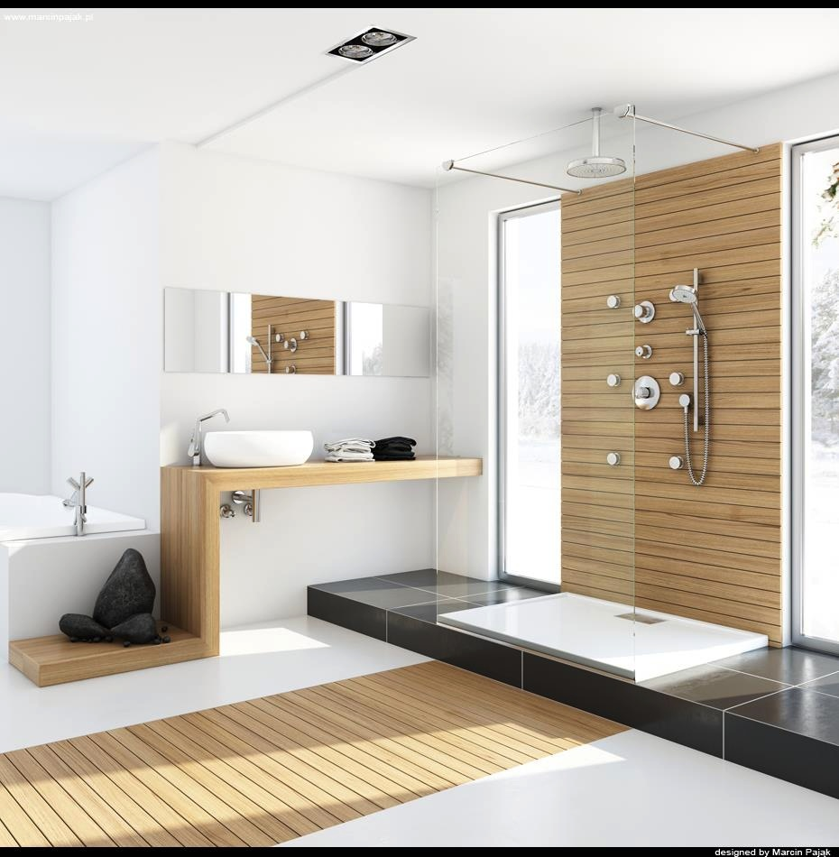 Modern bathrooms with spa like appeal showme design for Show me bathroom designs