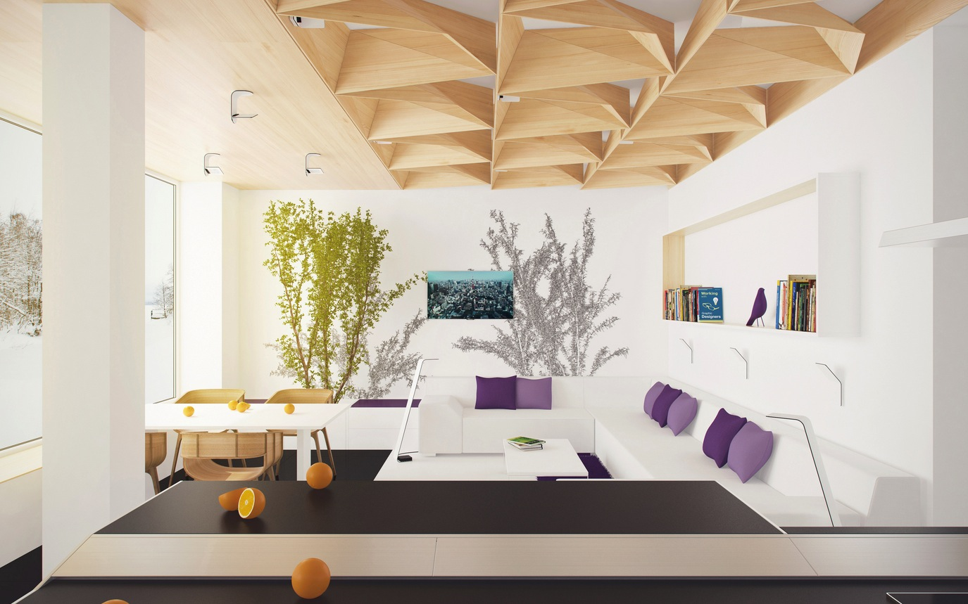 Unique Ceiling Designs for House of Every Style