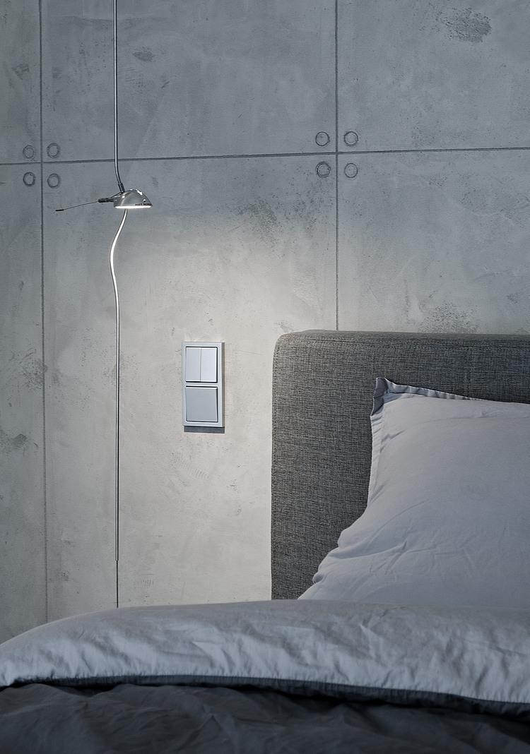 Дизайн бетонных стен