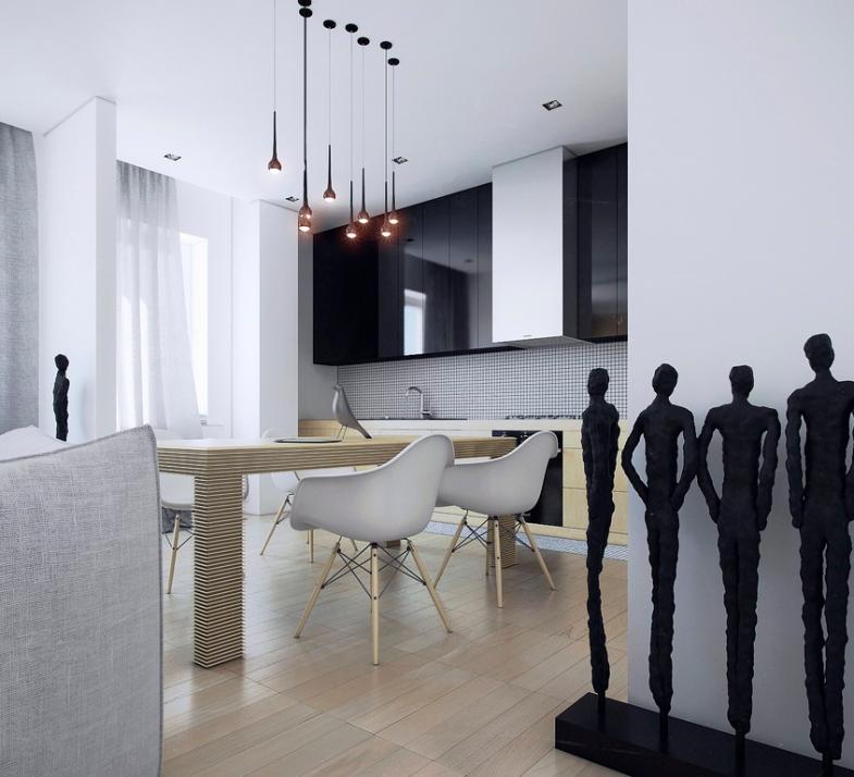 Modern eat in kitchen designs showme design for Modern dining area design
