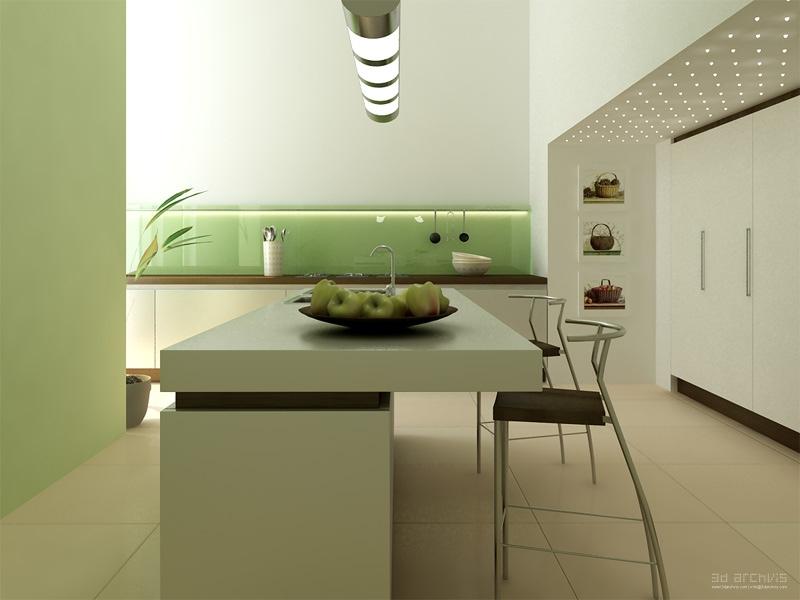 Modern Eat-In Kitchen Designs | showme design