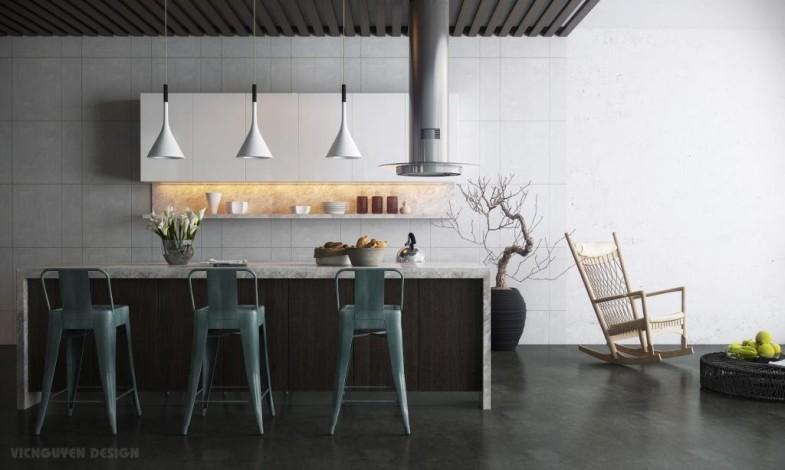 modern-kitchen-with-island-bar
