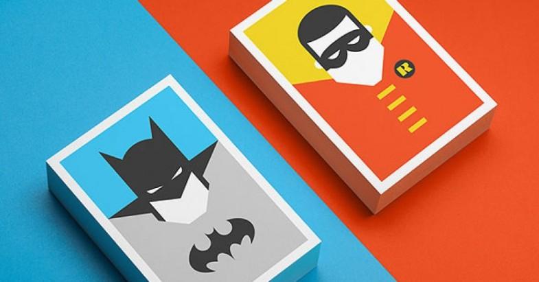 Minimalist Character Design Postcards