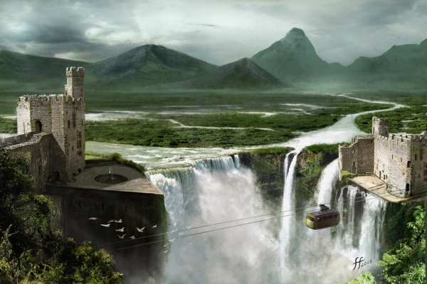 Incredible matte paintings showme design for Matte painting