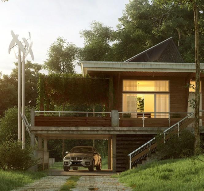 Contemporary Exteriors In Nature Showme Design