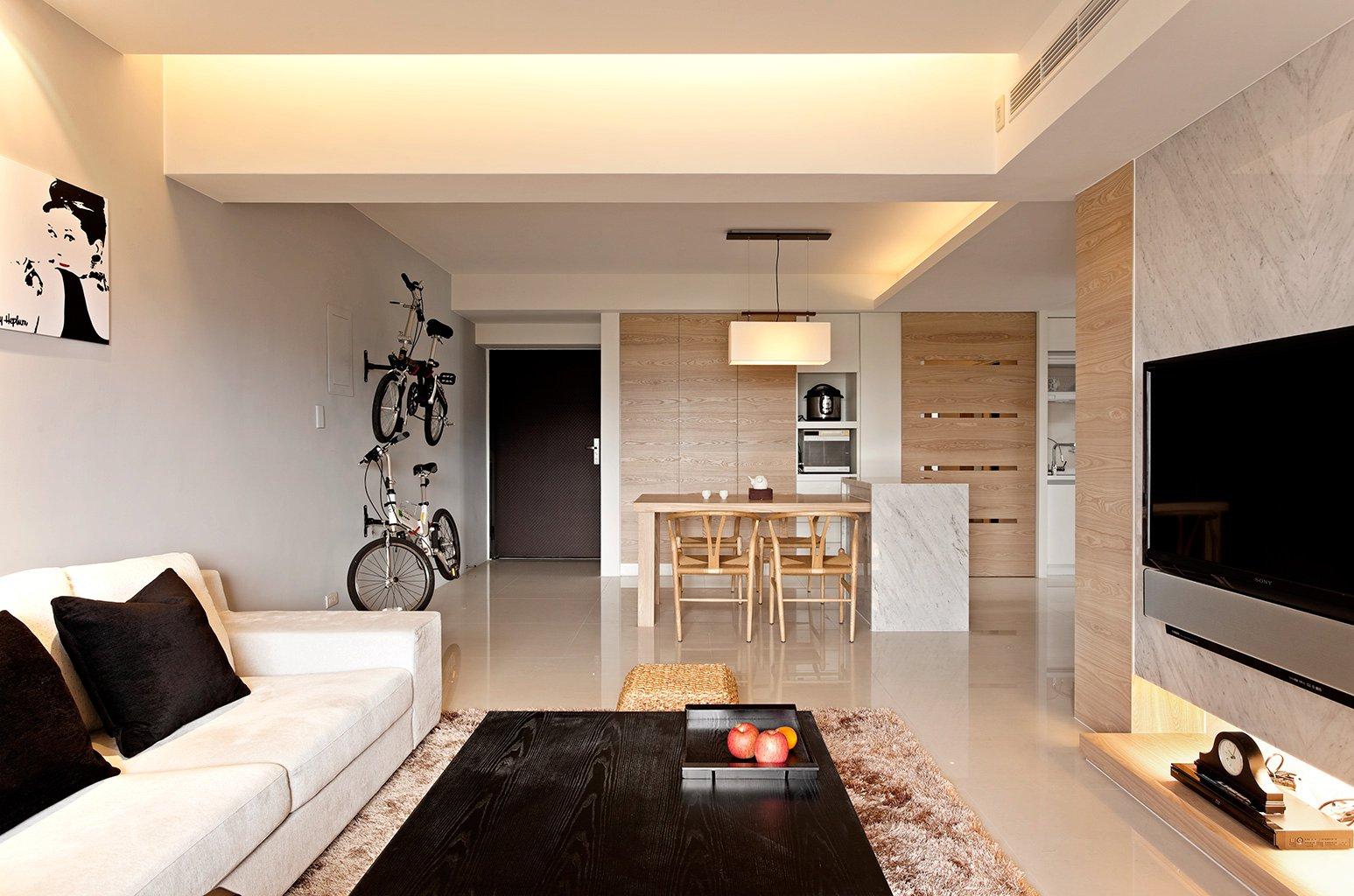 Modern minimalist decor showme design - Apartment living room decor ...