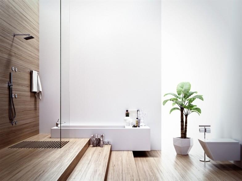 appealing modern bathroom tile designs   Modern Bathrooms with Spa-Like Appeal   showme design