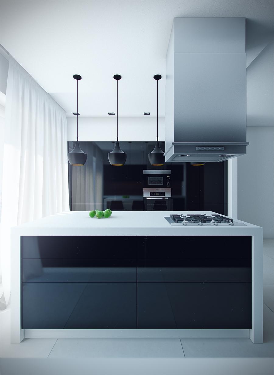 Modern eat in kitchen designs showme design - Modern kitchen island ideas ...