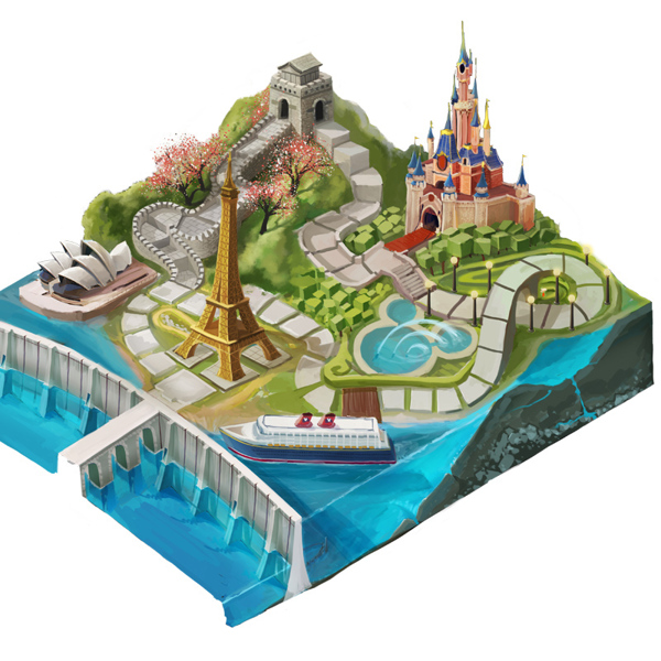 Helix Architecture Design Project Crossroads Parking: Disney Vacation Club BoardGame